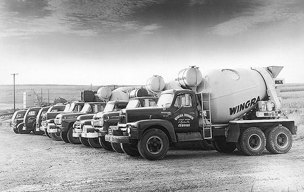 1960s Mixer Trucks