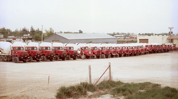 1980s ColorCementTrucks